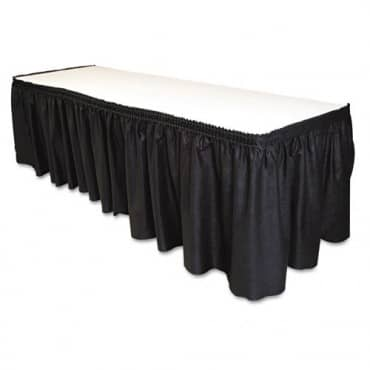 tablemate-29-inch-14-foot-black-table-set-linen-like-table-skirting-1[2]