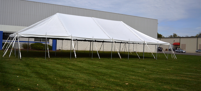 30x60-pole-tent-side-view1-660x300 (1) & 30u0027 x 60u0027 Pole Tent - Channahon General Rental