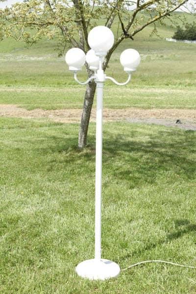 4 globe lamp