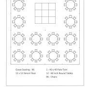 40x40 pole layout