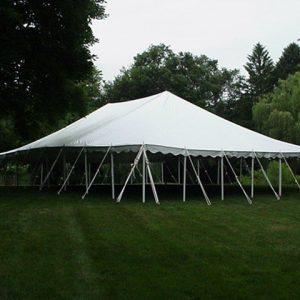 40u2032 x 60u2032 Pole Tent & Canopy Tent Rentals for Parties in Joliet u0026 Morris IL | Channahon ...