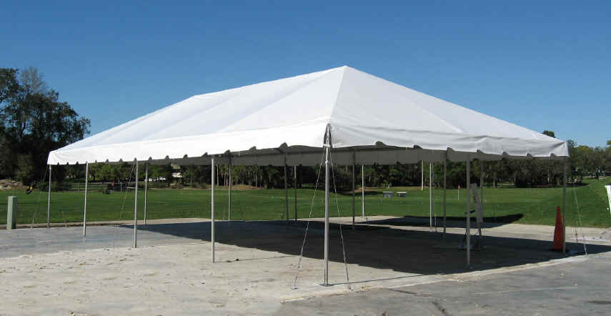 20x40 Frame Tent Channahon General Rental